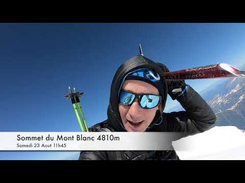 Ascension du Mont Blanc voie normale Juin 2018