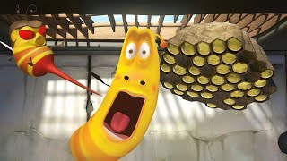LARVA - BEE | Cartoon Movie | Cartoons For Children | Larva Cartoon | LARVA Official