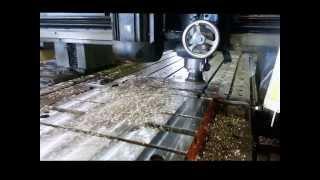 "Machine Bed Modification of 4,000 LB , 30"" X 80"" X 6"" thk"