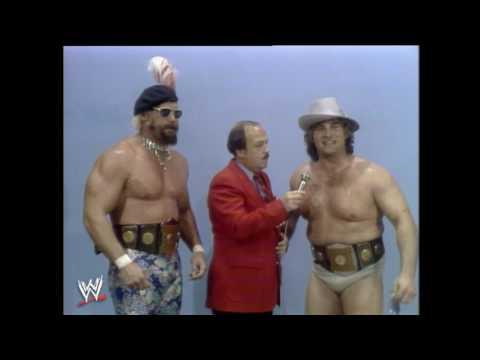 AWA Wrestling Jesse The Body Ventura & Adrian Adonis vs Verne Gagne & Mad Dog Vachon
