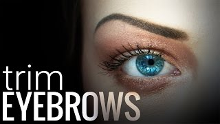 How to Trim and Fix Eyebrows on Photoshop
