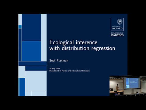 DPIR TechTalks: 'Ecological inference with distribution regression...'