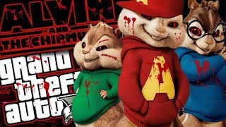The EVIL Alvin and the Chipmunks MOD (GTA 5 PC Mods Gameplay)