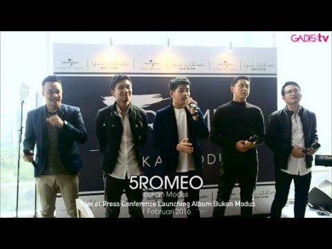 5Romeo - Bukan Modus (Live at Launching Album Bukan Modus)