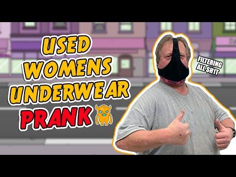 Used Women's Underwear Prank