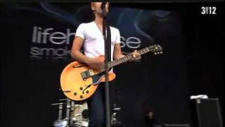 Lifehouse - Halfway Gone   live (pinkpop 2011)