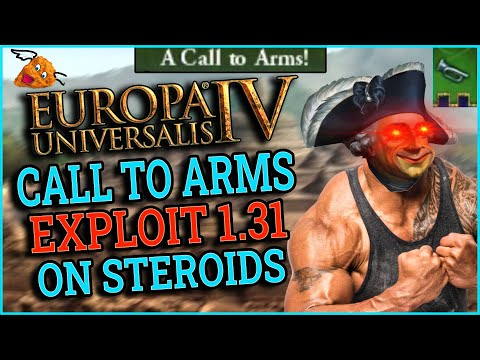 EU4 1.31 Leviathan Call To Arms Anyone Exploit - THEY TRIED FIXING IT BUT ITS EVEN MORE BROKEN |