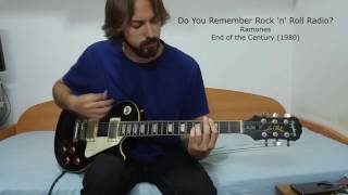 Do You Remember Rock 'n' Roll Radio Ramones Guitar Cover  Jordi Gràcia