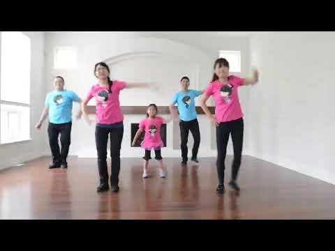 Xing fu de lian ( wajah yang bahagia)  dance