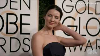 Outlander | Caitriona Balfe ~ Golden Globes 2017 Red Carpet Walk