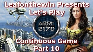 Anno 2170 A.R.R.C. Let's Play - Continuous Game - Part 10