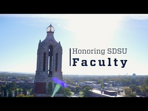 Honoring South Dakota State University Faculty