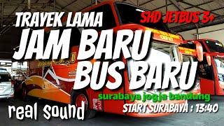 Review Trayek Lama Jam Baru Bus Baru Line perdana Sugeng Rahayu JB3