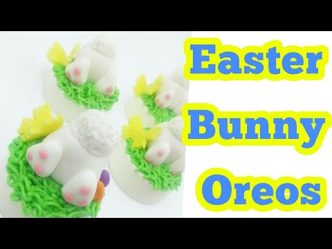 How To Create A Easter Bunny Oreo