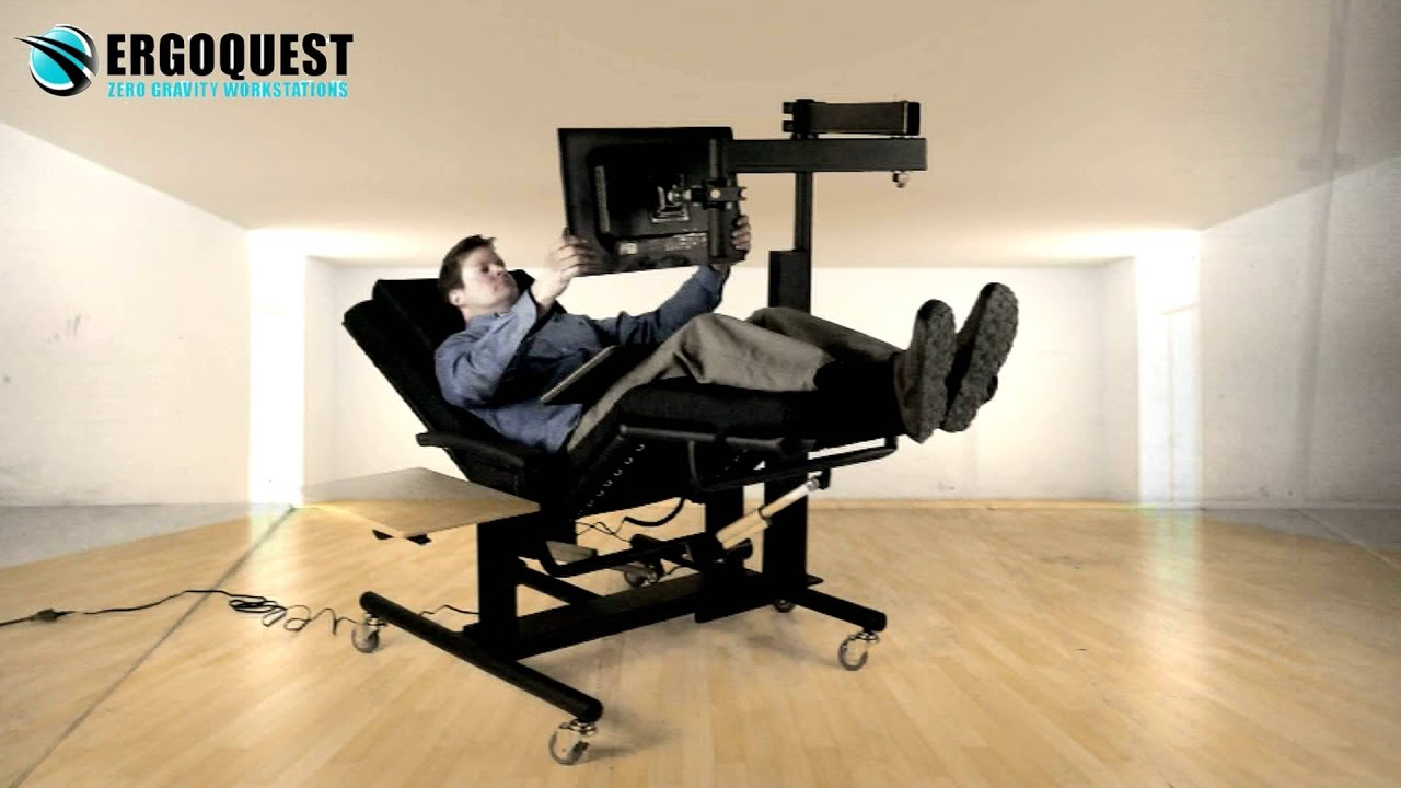 Chair With Monitor Attached Youtube