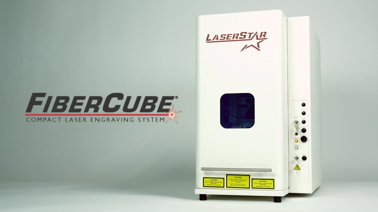 Laser Engraving Fibercube Compact Laser Engraving System