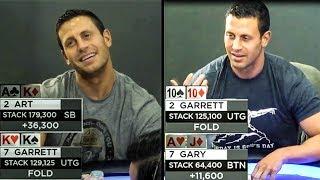Garrett Adelstein Bluffs & Dealing W/ Downswings | Real Poker Talk