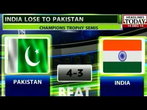 Hockey Champions Trophy: Pakistan defeat India in Thrilling Semifinal Match