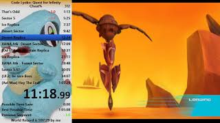 (Current WR) Code Lyoko: Quest for Infinity Cheat% Speedrun in 1:06:32