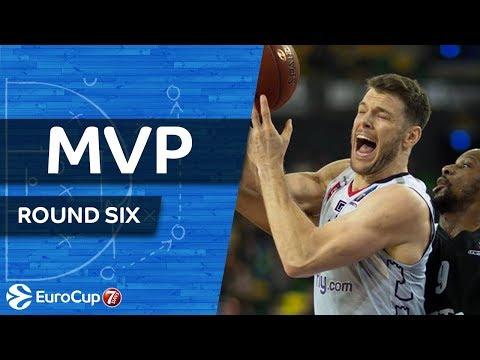 7DAYS EuroCup Regular Season, Round 6 MVP: Chris Kramer, Lietuvos Rytas Vilnius