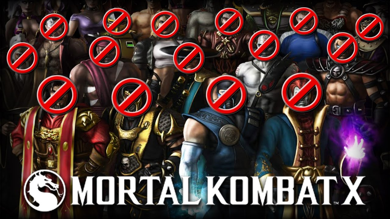 Mortal Kombat X: 15 Characters That Should Not Be In MKX!