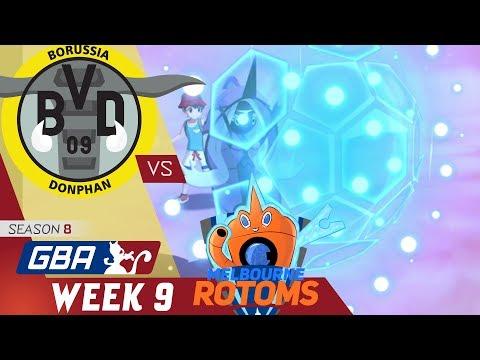 GBA S8 Week 9   Borussia Donphan (5-3) VS  Melbourne Rotoms (2-6) w/ El Scizor