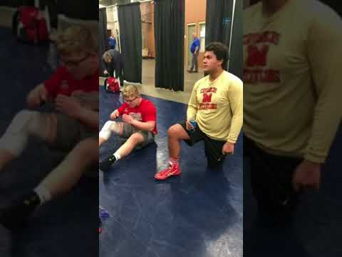 Anthony Walters 2018 wrestling championships
