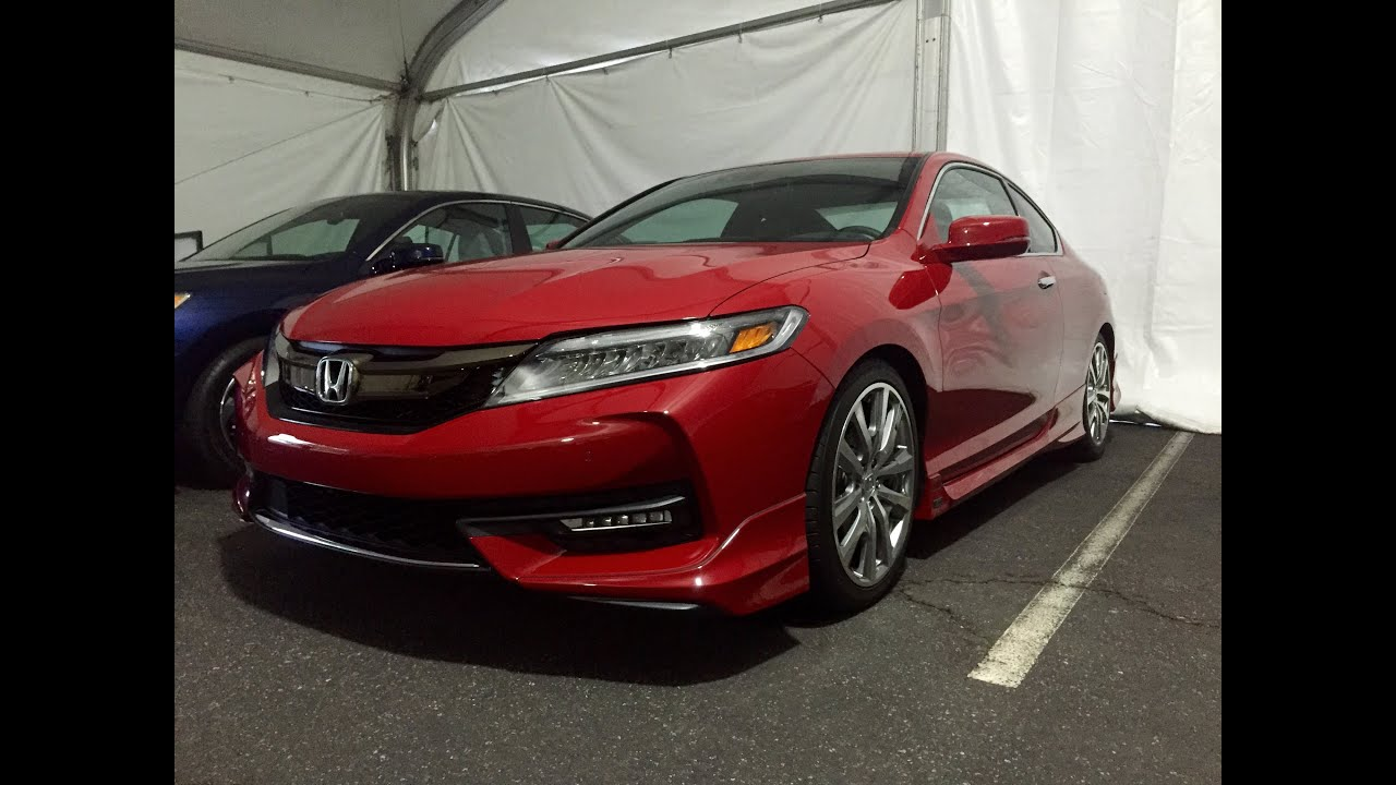 2016 honda accord coupe 1st look youtube. Black Bedroom Furniture Sets. Home Design Ideas