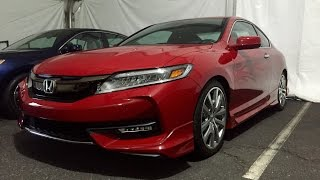 2016 Honda Accord Coupe (1st look)
