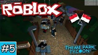 Kita Bikin Foodcourt-Theme Park Tycoon 2 Roblox Indonesia-Part 5
