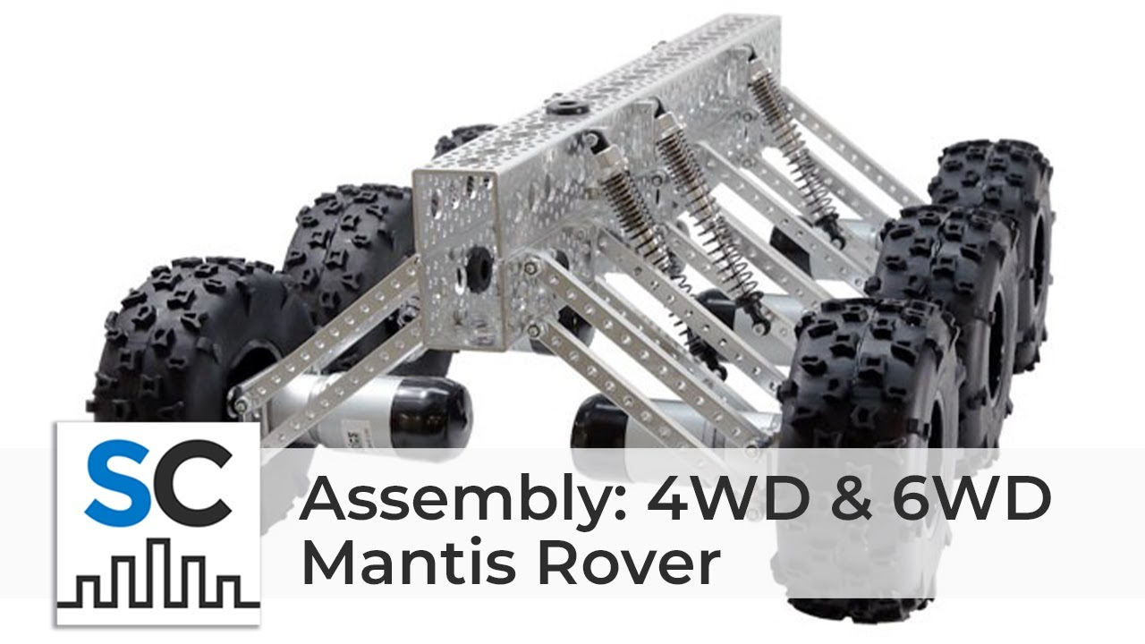 Actobotics® Mantis™ Rover Assembly Video