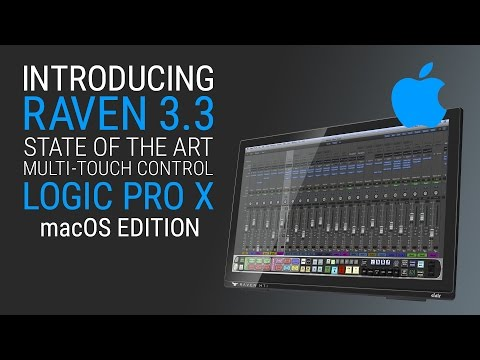 RAVEN 3.3 for macOS - Logic Pro X Quick Start