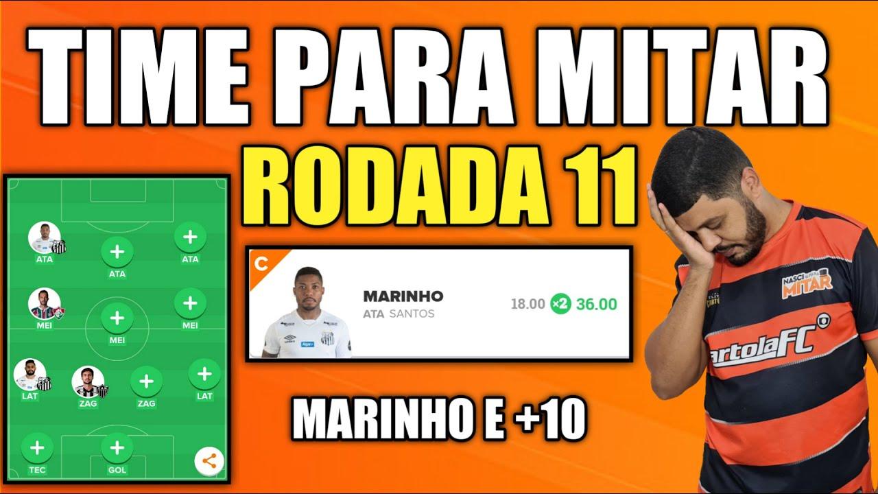 DICAS RODADA 11 - TIME PARA MITAR - CARTOLA FC 2020