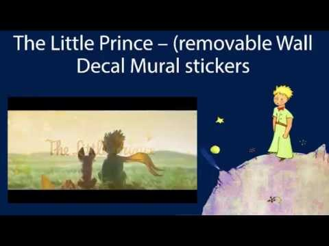 The Little Prince Removable Wall Decal Mural Stickers