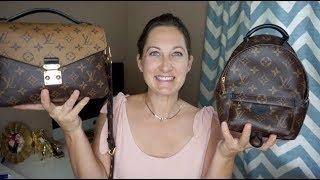 Louis Vuitton Palm Springs Mini VS  Pochette Metis; Comparison Video