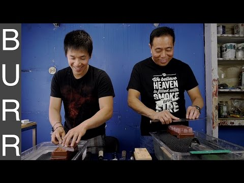Knife Sharpening w/ National Champion BBQ Pitmaster Harry Soo