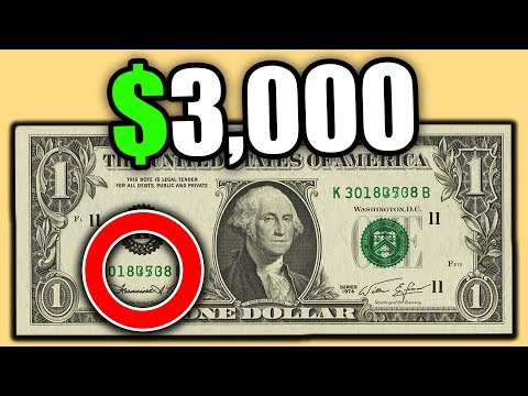 THESE SUPER RARE DOLLAR BILLS SOLD FOR BIG MONEY!! CHECK YOUR BANKNOTES!