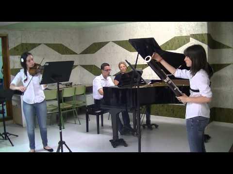 Trio Bethoven-Fagot, Violín y Piano Conservatorio Pérez Barceló de Benidorm
