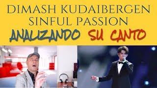 DIMASH KUDAIBERGEN - SINFUL PASSION - Analizando Su Canto En Vivo