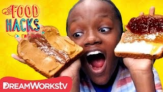 3 Sandwich Hacks You HAVE To Try! | FOOD HACKS FOR KIDS