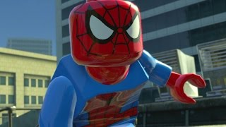 LEGO Marvel Super Heroes (PS4) - Co-op Walkthrough Part 2 - Times Square Off
