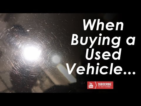 What to look for when buying a used vehicle from a dealer — Paint Correction and Gtechniq EXOv3