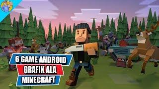 6 Game Android Terbaik dengan Grafik Ala-ala Minecraft Seru dan Keren