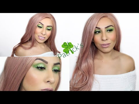 St Patick's Day Makeup  2019