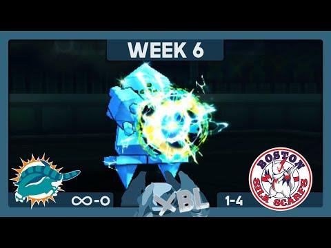 ZAP CANNON REGICE! Miami Donphans vs Boston Silk Scarfs - XBL S1 W6 KyleAye vs Grizlocke