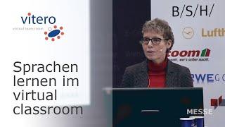 Learntec 2020: Vortrag zu Sprachen lernen im virtuellen Klassenzimmer