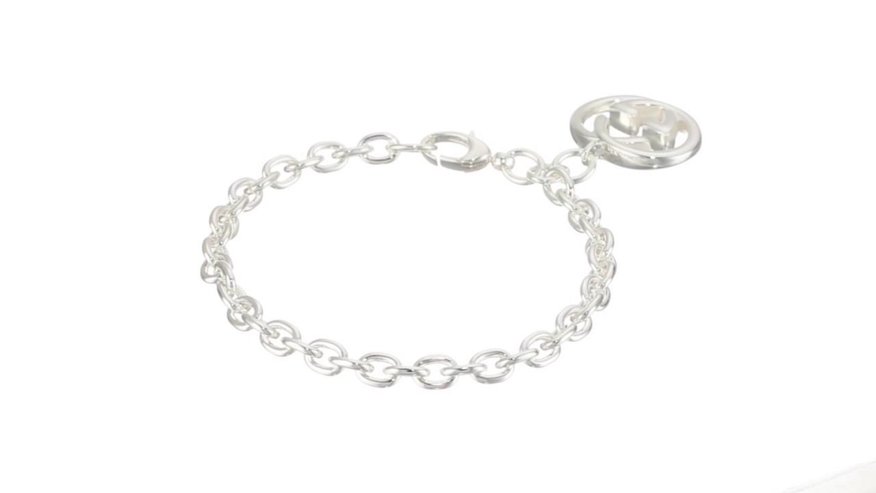00a069081 Gucci - Silver Britt Bracelet SKU:8803510 - YouTube