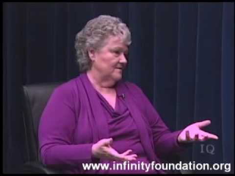Tina Zion on Inner Quest TV produced by Infinity Foundation Highland Park, IL