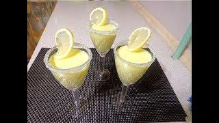 Десерт Лимонный мусс.  Просто, быстро, вкусно!