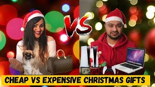 Cheap VS Expensive Christmas Gifts Challenge